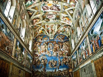 Be In Awe Of The Sistine Chapel