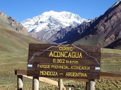 Climb Mt Aconcagua Summit Of South America