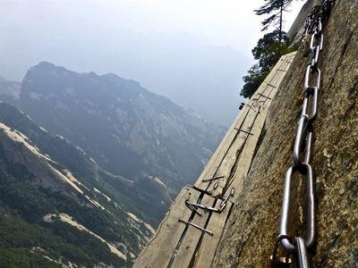 Climb Mt Huashan
