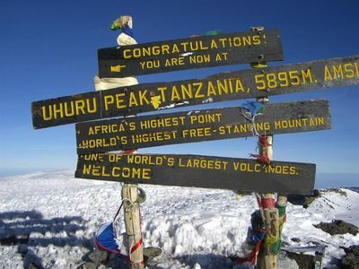 Climb Mt Kilimanjaro Summit Of Africa