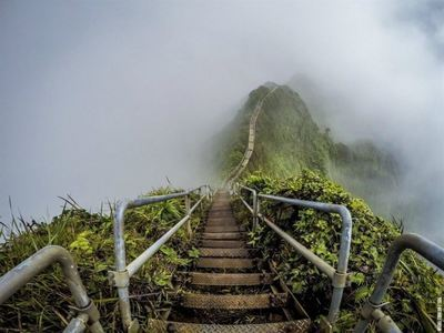 Climb The Haiku Stairs