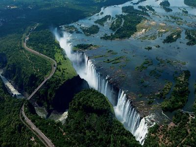 Feel The Power Of Victoria Falls