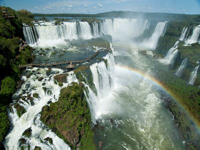 Feel The Spray Of Iguazu Falls