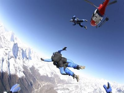 HALO Skydive Over Mt Everest