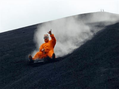 Have A Go At Volcano Boarding