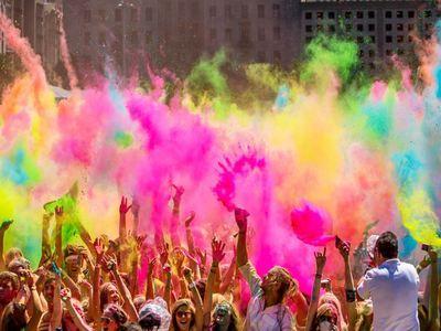Participate In Holi Festival