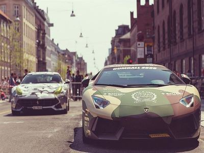 Participe In The Gumball 3000