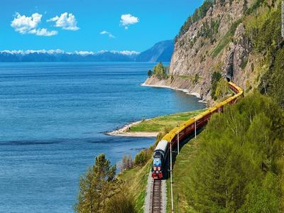 Ride The Trans Siberian Railway