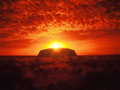 Savour Sunset At Uluru