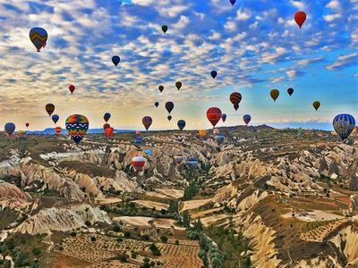 See The Fairy Chimneys Of Cappadocia