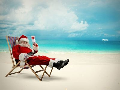 Spend Christmas On The Beach