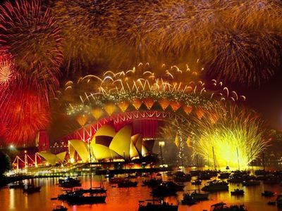 Spend New Year At Sydney Harbour