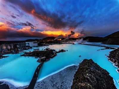 Swim In The Blue Lagoon