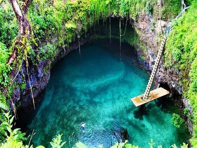 Swim In The To-Sua Ocean Trench