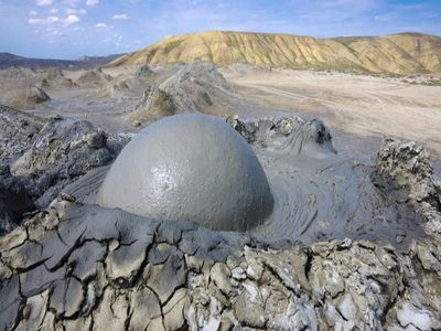 Take A Dip In A Mud Volcano
