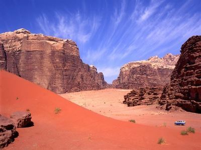 Walk In The Wadi Rum