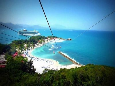 Zip Down The Worlds Longest Zipline Over Water