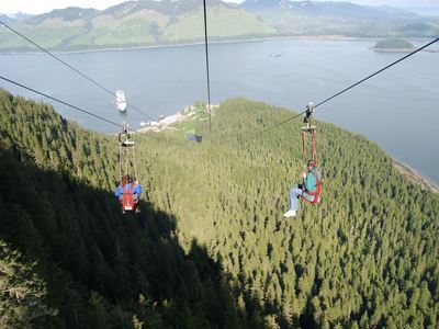Zip Down The Worlds Longest Zipline